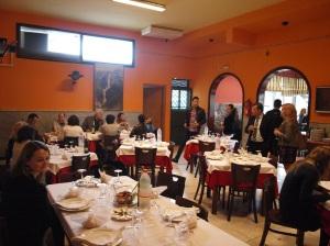 La degustación, el día del Entierro de la Sardina, incluyó este pescado azul...