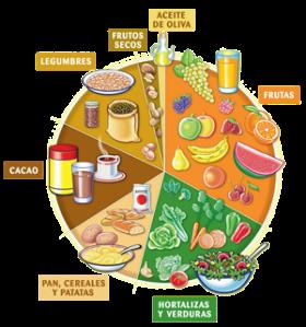 Imagen extraída de la Guía práctica de la alimentación en el deporte de la UNED.