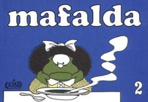 Portada de uno de los libros de tiras cómicas obra de Quino (http://www.iberlibro.com/)